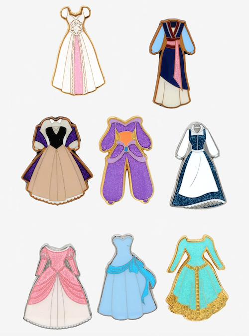 Disney Princess Dress Vol. 2 Pins