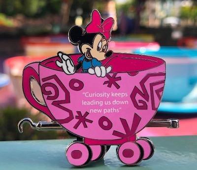 Disneyland Passholder Train Series 2019 Pin #3