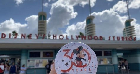 Disney's Hollywood Studios 30th Anniversary Button