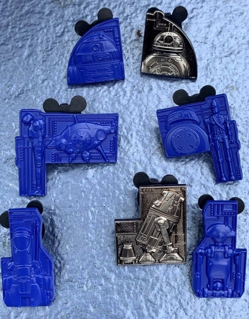 Droid Galaxy's Edge Mystery Pin Set