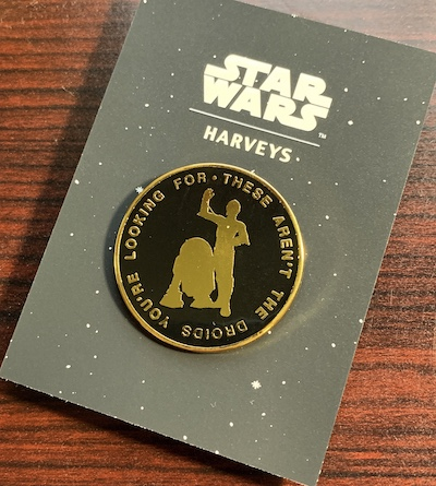 Droids Star Wars Harveys Pin