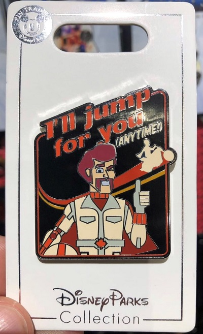 Duke Caboom Toy Story 4 Pin