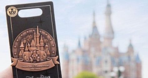 Enchanted Storybook Castle Shanghai Disneyland Pin