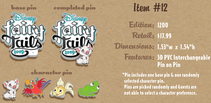 FairyTails Event Logo Pins