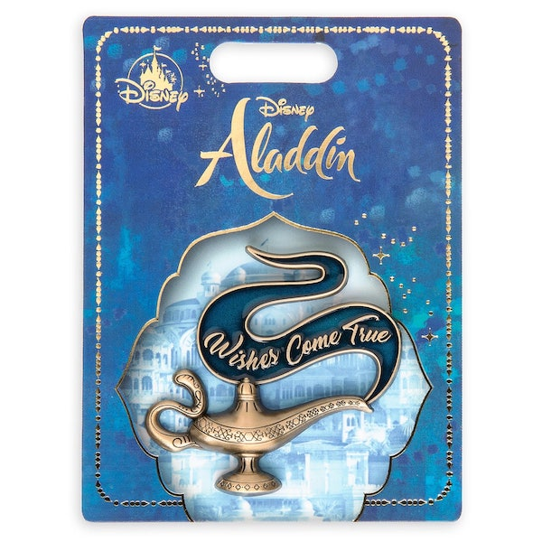 Genie Lamp Aladdin Live Action Pin