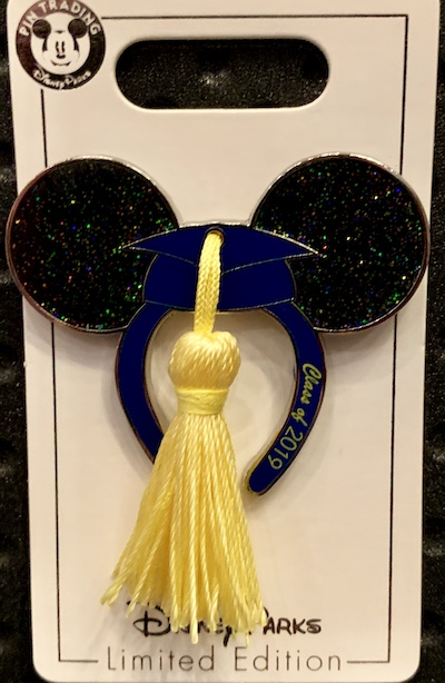 Graduation 2019 Disney Pin
