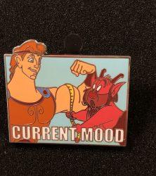 Hercules Current Mood Pin