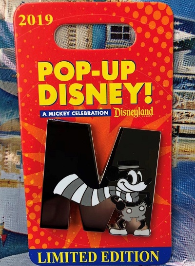 M - Pop-Up Disney! Pin