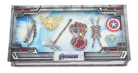 Marvel Avengers Endgame Limited Edition Pin Set