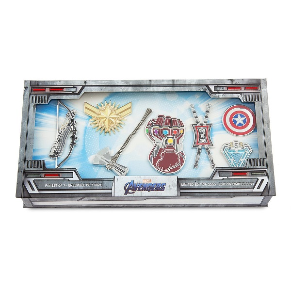 Marvel Avengers Endgame Limited Edition Pin Set