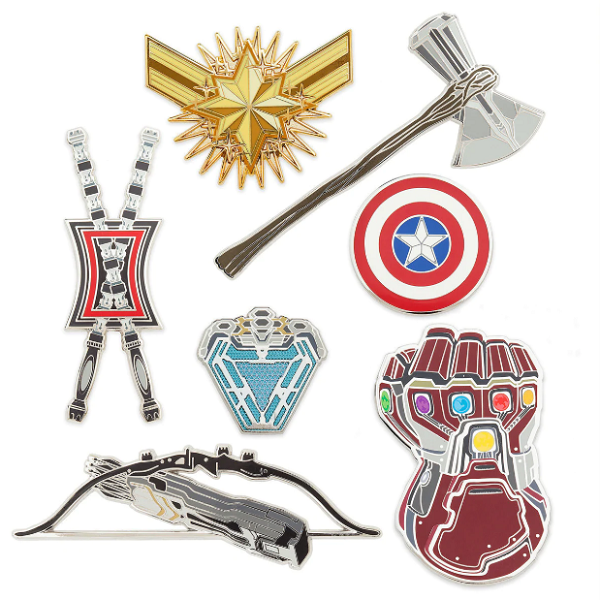 Marvel Avengers Endgame Pins -shopDisney