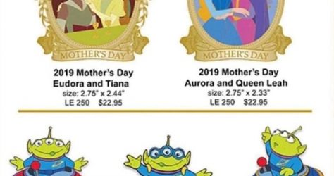 Mother's Day 2019 and Little Green Men WDI Pin Release