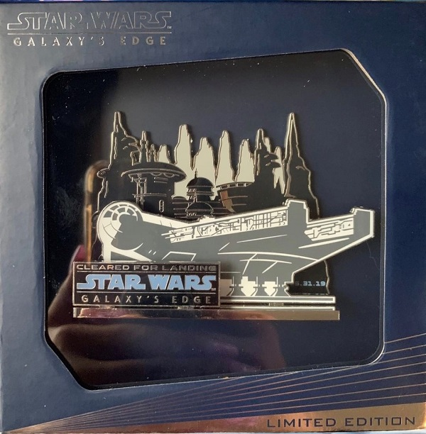 Opening Day Jumbo Pin - Disneyland Star Wars Galaxy's Edge