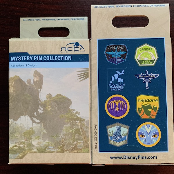 Pandora The World of Avatar 2019 Mystery Pin Collection