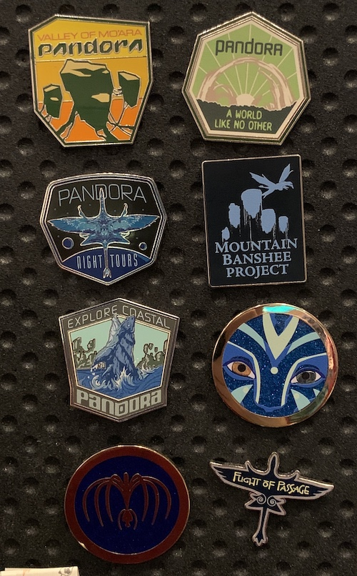 Pandora The World of Avatar 2019 Mystery Pins