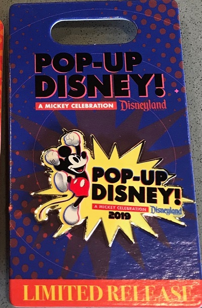 Pop-Up Disney! Mickey Celebration 2019 Pin