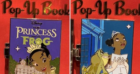Princess and the Frog Pin Trading Pop Up Pin