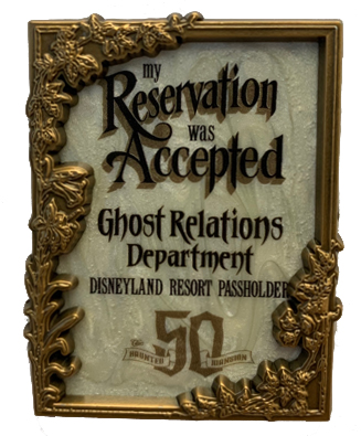 Reservations Accepted AP Pin