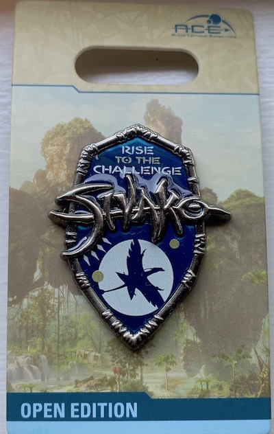 Rise to the Challenge Pandora Pin