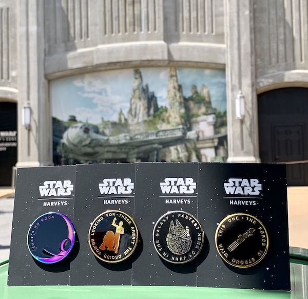 Star Wars Harveys Pin Collection