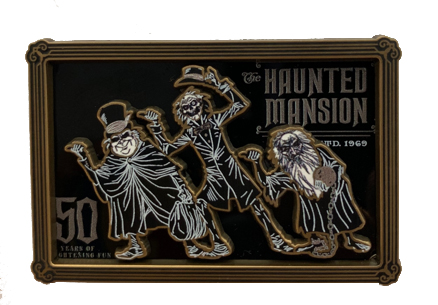 The Haunted Mansion 50th Hitchhiking Pin