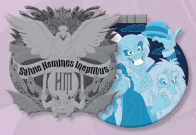 The Haunted Mansion Crests of the Kingdom Pin