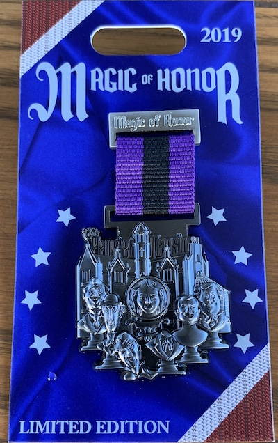 The Haunted Mansion Magic of Honor Pin