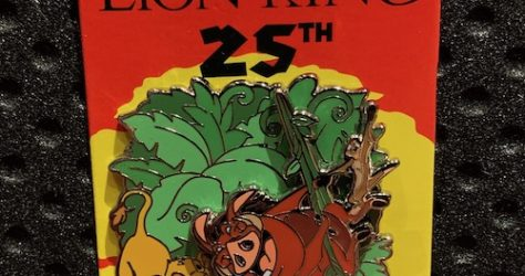 The Lion King 25th Disney Parks Pins