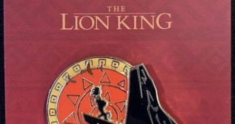 The Lion King Magical Screenings Disney D23 Pin
