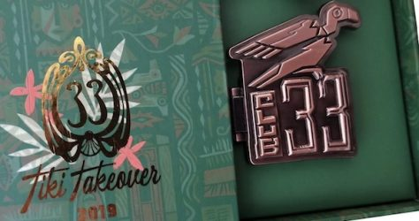Tiki Takeover Club 33 Disney Pin