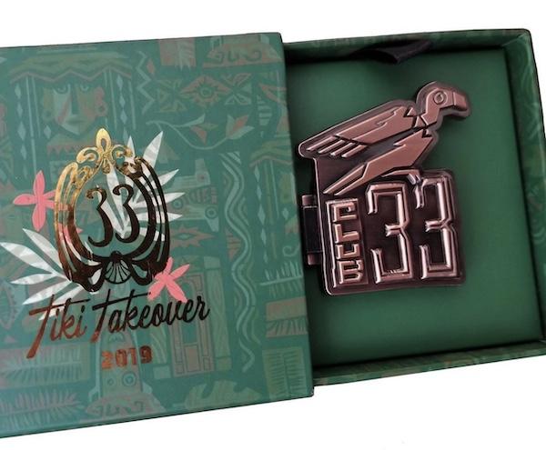 Tiki Takeover Club 33 Disney Pin