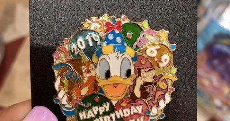 Tokyo Disney Resort Donald Duck 2019 Birthday Pin
