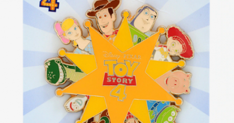 Toy Story 4 Badge Hot Topic Pin