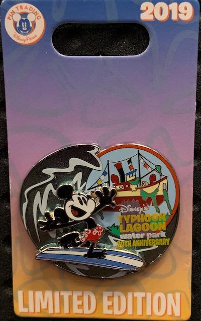 Typhoon Lagoon 30th Anniversary Disney Pin