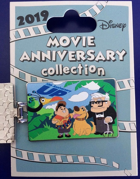 UP 10th Anniversary Cast Member Pin - Inside