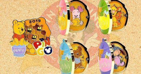 Winnie the Pooh PIN-GO 2019 Pins