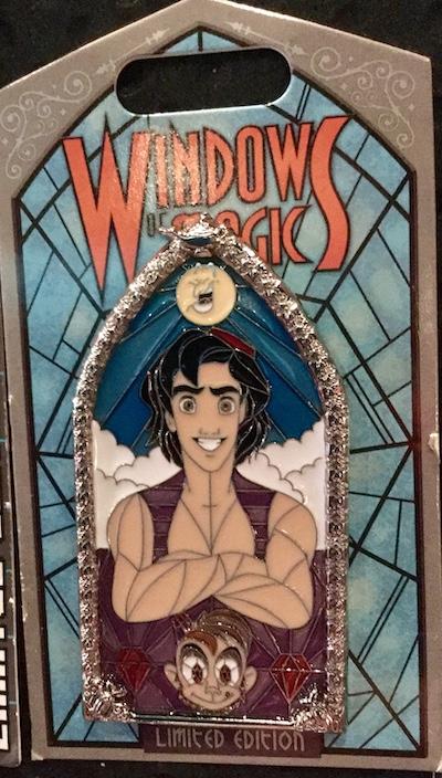 Aladdin Windows of Magic Pin