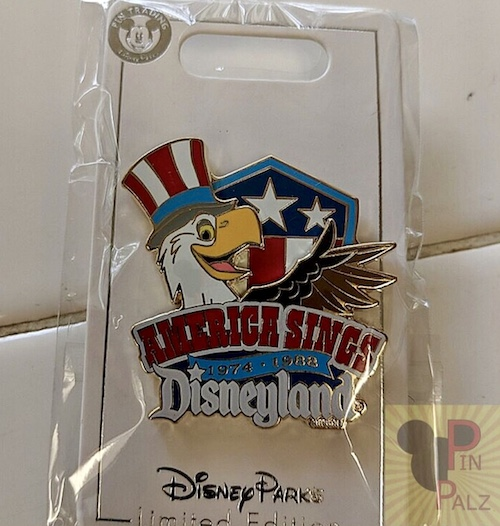 America Sings Disneyland Cast Member Pin