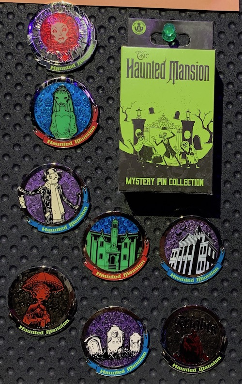 Attraction Scenes Haunted Mansion Mystery Pin Collection