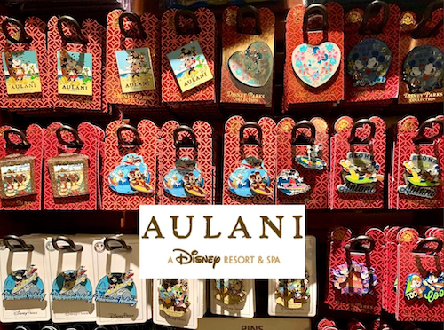 Disney Aulani Exclusive Surfing Mickey and Minnie Trading Pins 2019 Contemporary Disney Pins, Patches & Buttons (1968-Now) Contemporary Disney Collectibles (1968-Now)