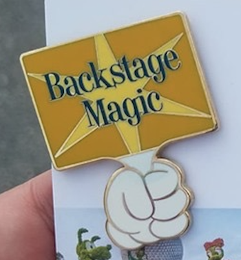 Backstage Magic Walt Disney World Pin