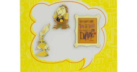 Beauty and the Beast Disney Wisdom Pin Set