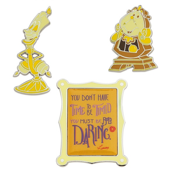 Beauty and the Beast Disney Wisdom Pins