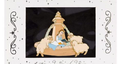 Belle Jumbo Pin – Disney Store UK