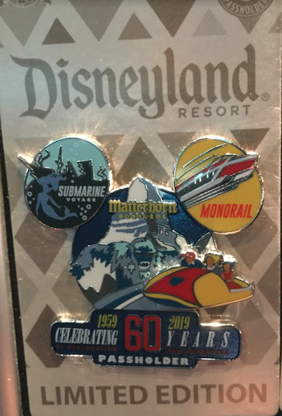 Celebrating 60 Years of Exploration and Adventure AP Pin