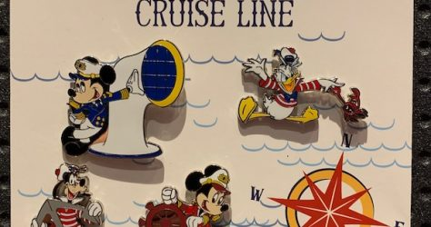Disney Cruise Line Booster Pin Set