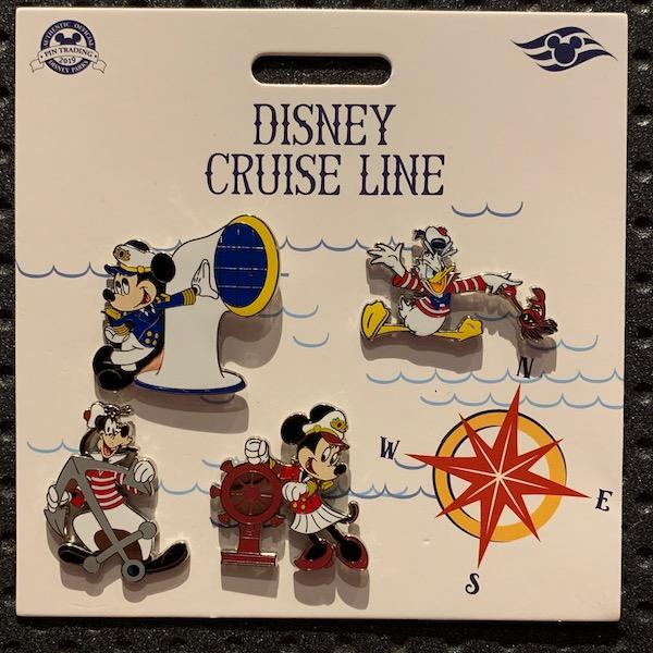 Disney Cruise Line Booster Pin Set