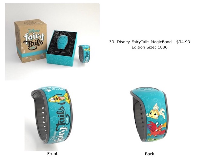 Disney FairyTails Pin Event MagicBand