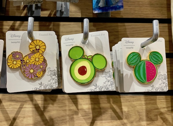 Disney Fruit Pins at BoxLunch