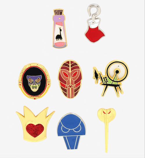 Disney Villains BoxLunch Mystery Pins